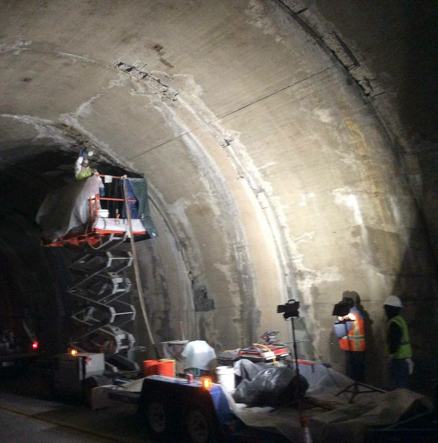 tunnel repair