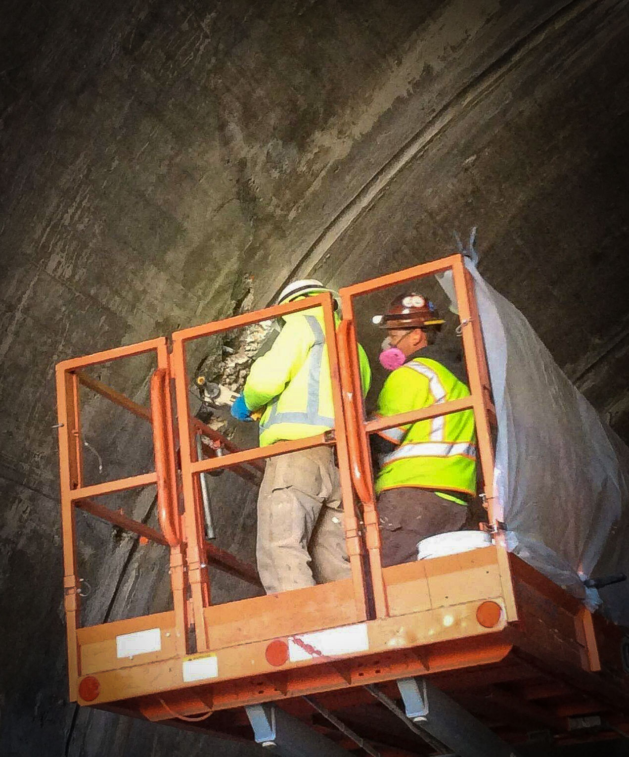 yosemite tunnel repair