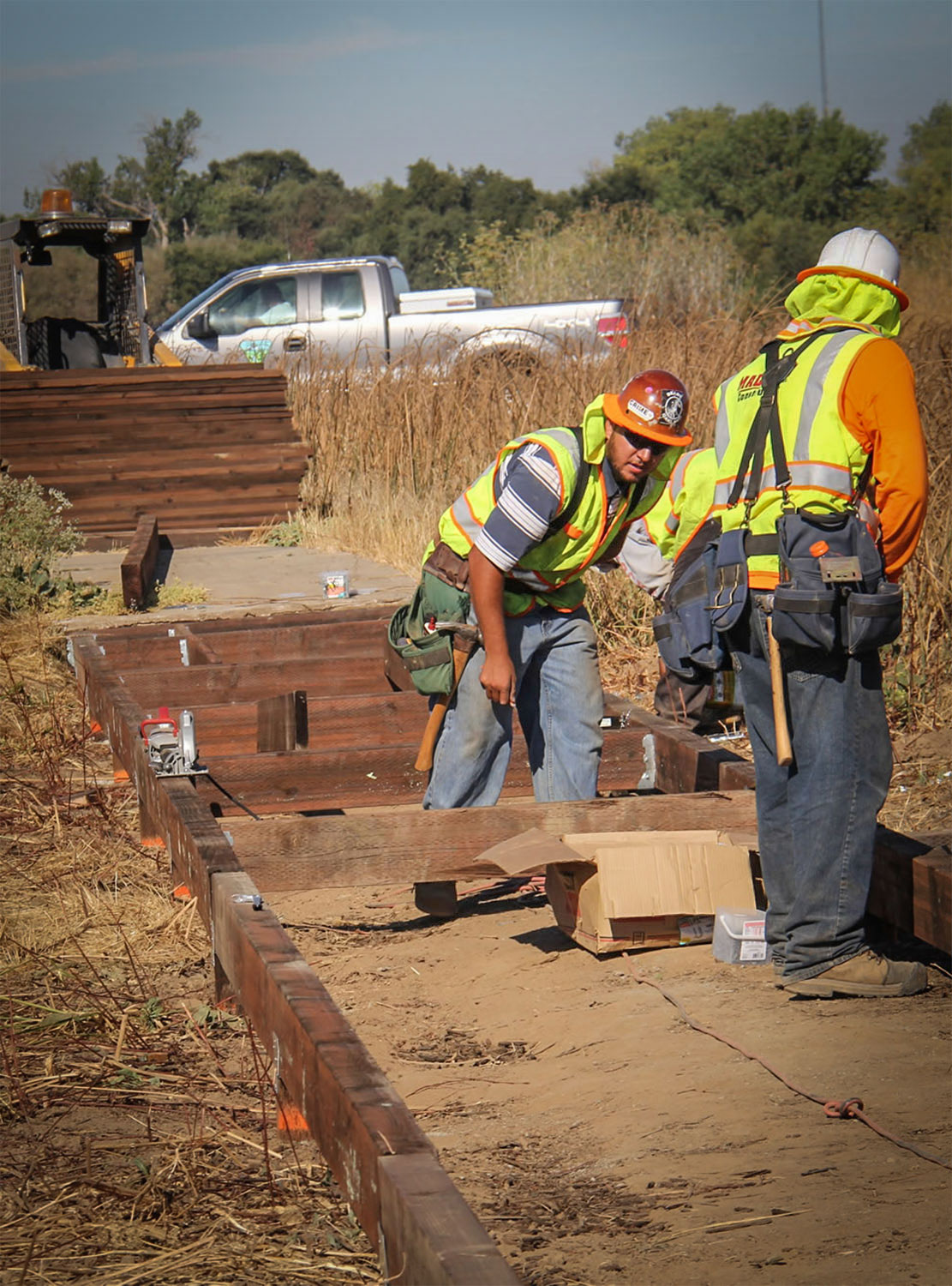 preserve boardwalk reconstruction