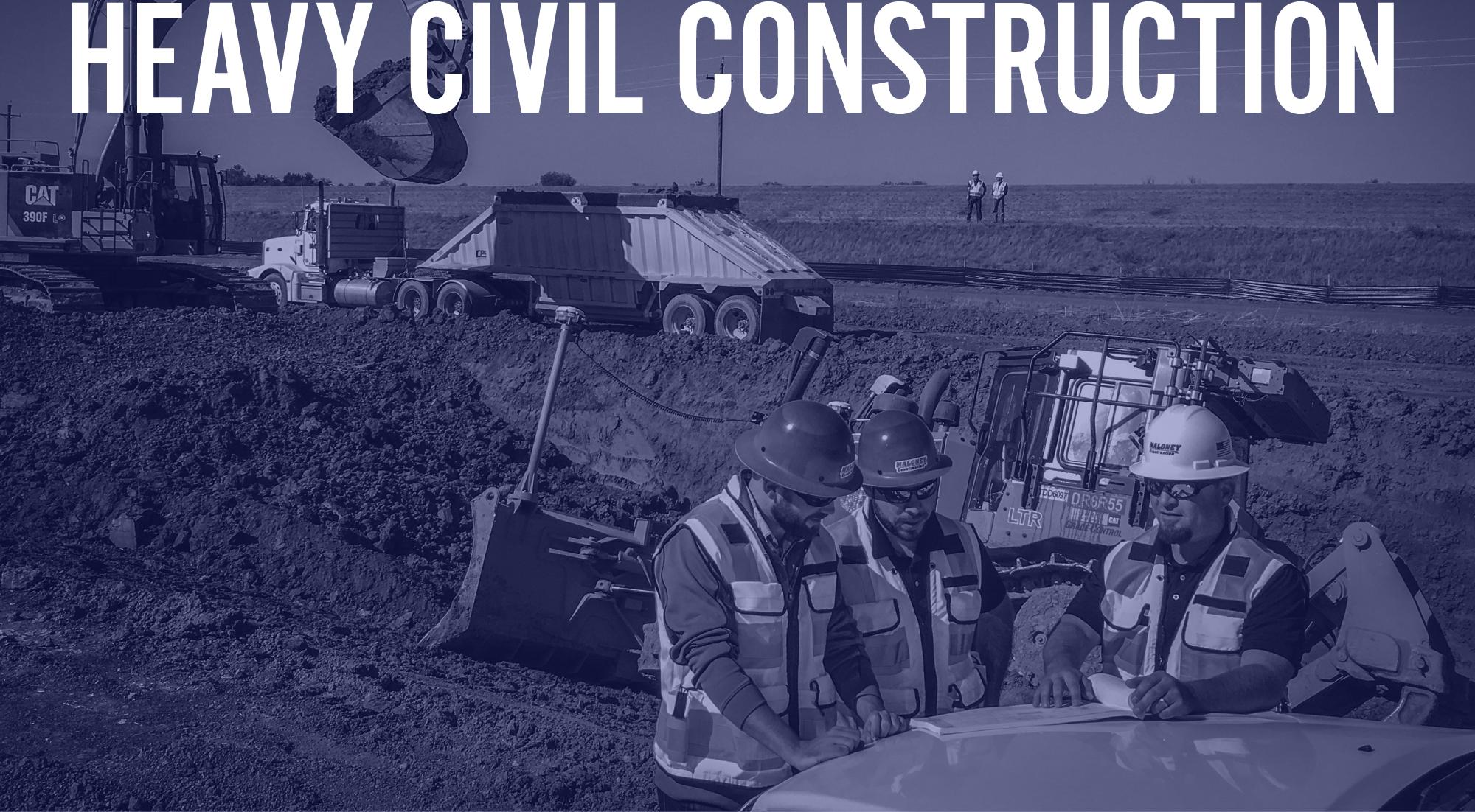 levee construction natomas basin heavy civil