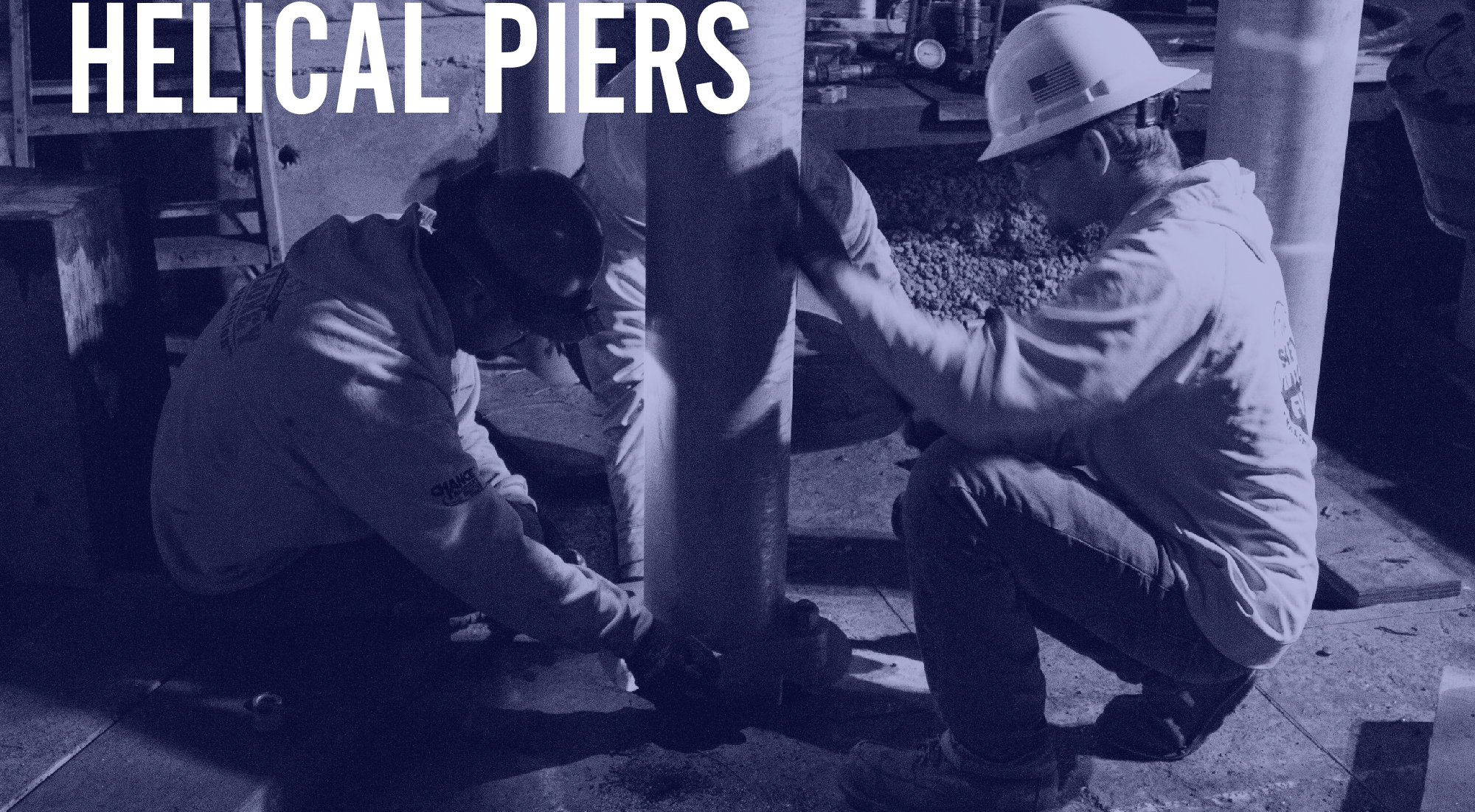 Helical Piers | Maloney Construction, Inc